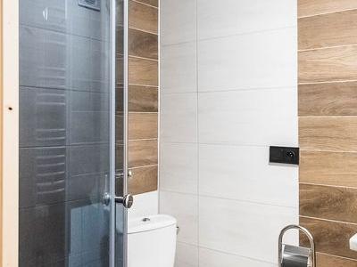 łazienka w domku góralskim